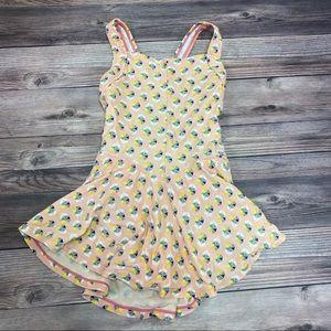 Pink Hanna Andersson swim dress - 120 - size 6-7